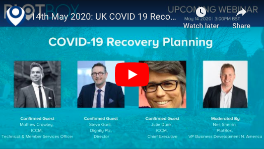 14th May 2020: COVID-19 Recovery Planning