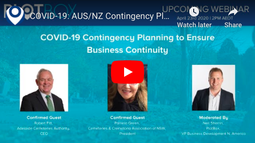 23rd April 2020: COVID-19 Contingency Planning [AUS/NZ]
