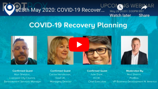 28th May 2020: COVID-19 Recovery Planning