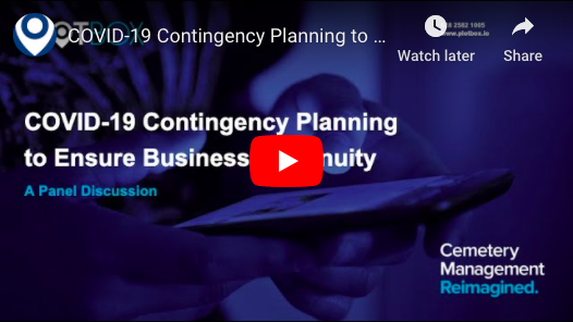 2nd April 2020: COVID-19 Contingency Planning