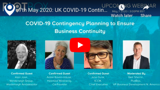 7th May 2020: COVID-19 Contingency Planning