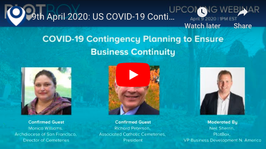 9th April 2020: COVID-19 Contingency Planning [US]