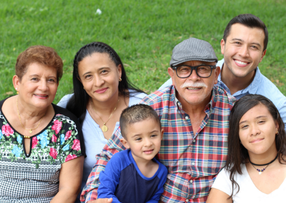 Photo of an Hispanic Family