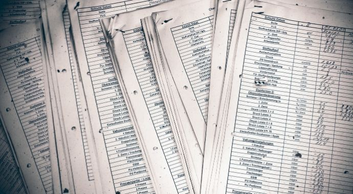 Image of disorganised papers