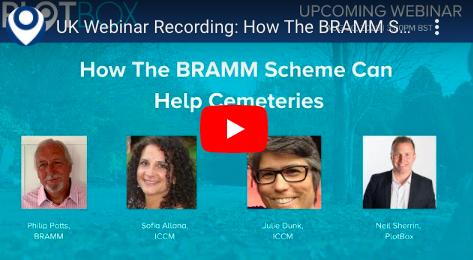20th August 2020: How The BRAMM Scheme Can Help Cemeteries