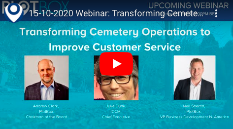 15th October 2020: Transforming Cemetery Operations to Improve Customer Service