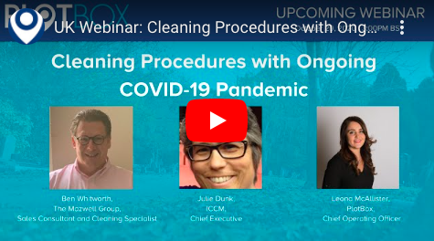 29th October 2020: Cleaning Procedures with Ongoing COVID-19 Pandemic