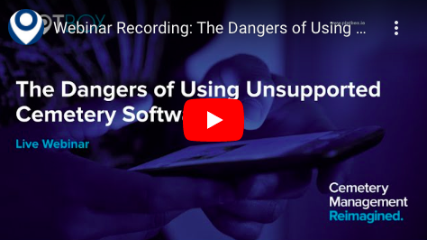 Dangers of using unsupported software